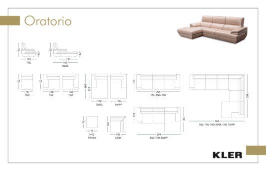 Угловой диван Oratorio W160 фото 2