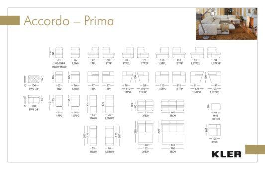 Модульный диван Accordo prima W130 фото 1