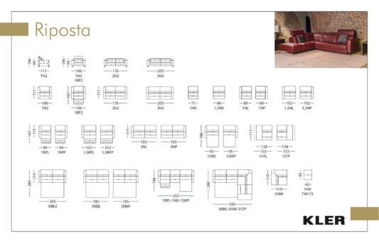 Модульный диван Riposta W173 фото 1