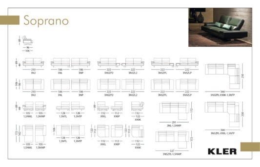 Модульный диван Soprano W171 фото 1