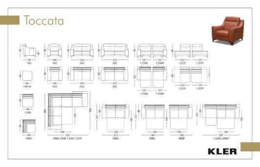 Модульный диван Toccata W144 фото 1