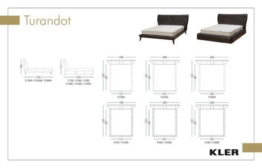 Кровать Turandot L103 фото 4