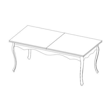 PR-2 стол обеденный