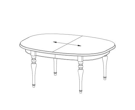 Стол раскладной Florencja FL-S2