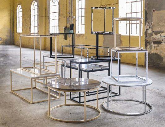 Кофейный столик Accent gold фото 3