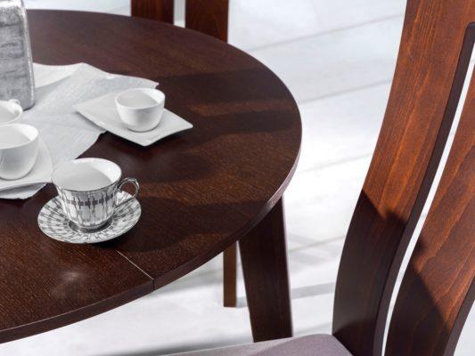 Раскладной стол Scandi Ø95 фото 9