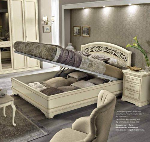 Кровать Torriani Botticelli Noce фото 5
