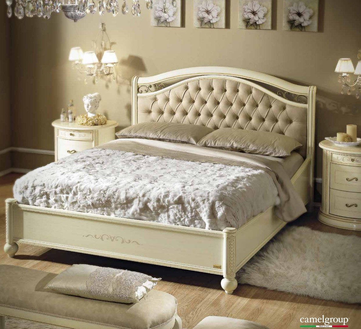 Кровать Siena Avorio