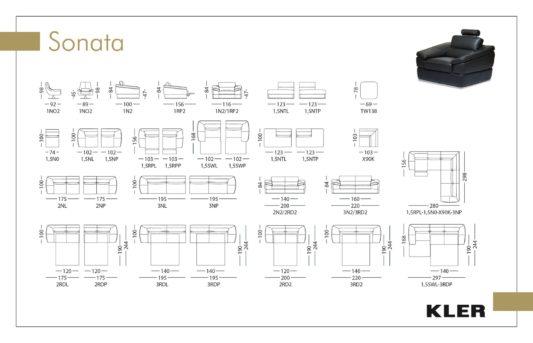 Угловой диван Sonata W138 фото 1