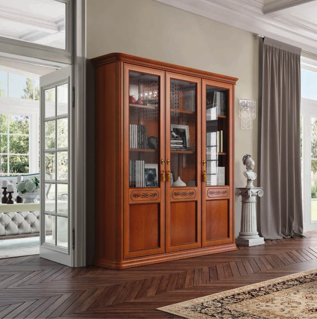Книжный шкаф Torriani 3-дверный