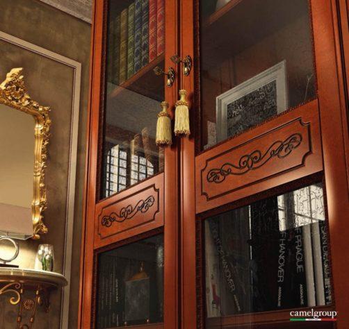 Книжный шкаф Torriani 2-дверный фото 2