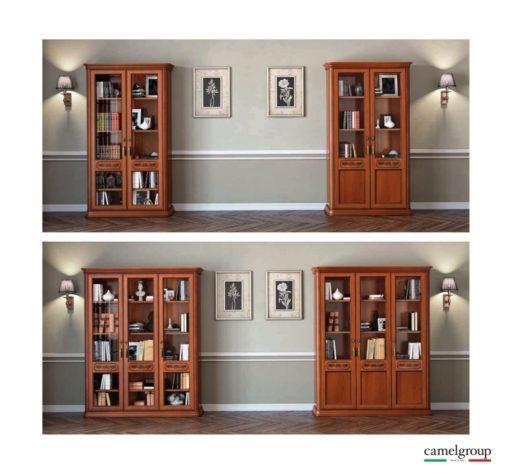 Книжный шкаф Torriani 2-дверный фото 3