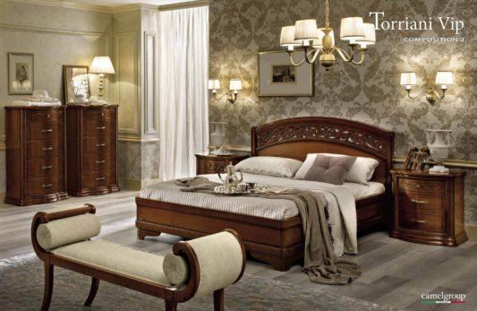 Кровать Torriani Botticelli Noce фото 1