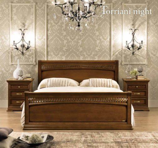 Кровать Tiziano c изножьем