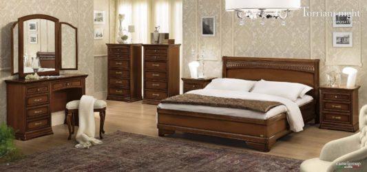 Кровать Torriani Tiziano Noce фото 4