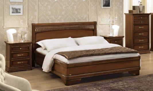 Кровать Torriani Tiziano Noce