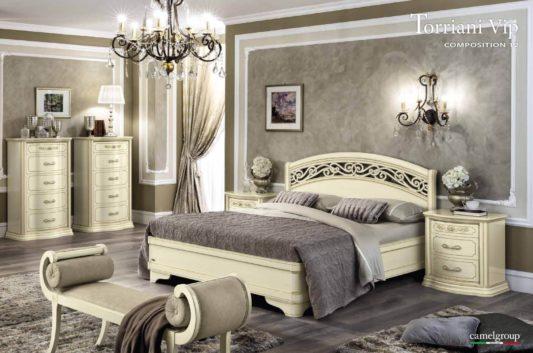 Кровать Torriani Botticelli Noce фото 3
