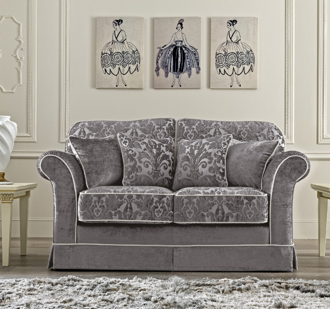 Двухместный диван Treviso