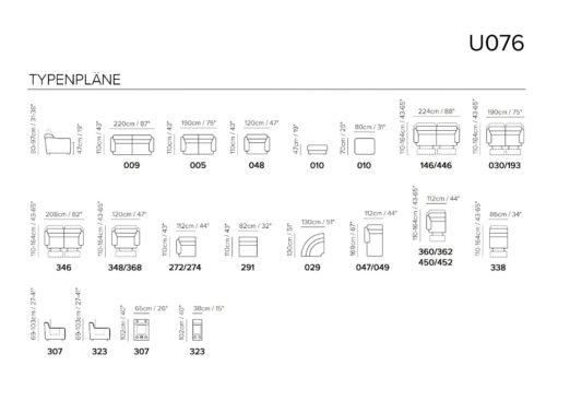 Угловой диван U076 фото 2