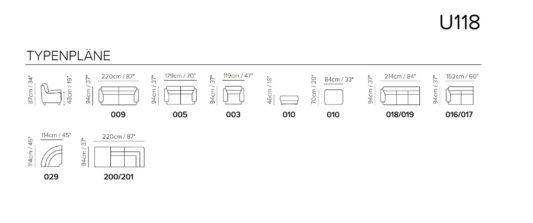 Угловой диван U118 фото 1