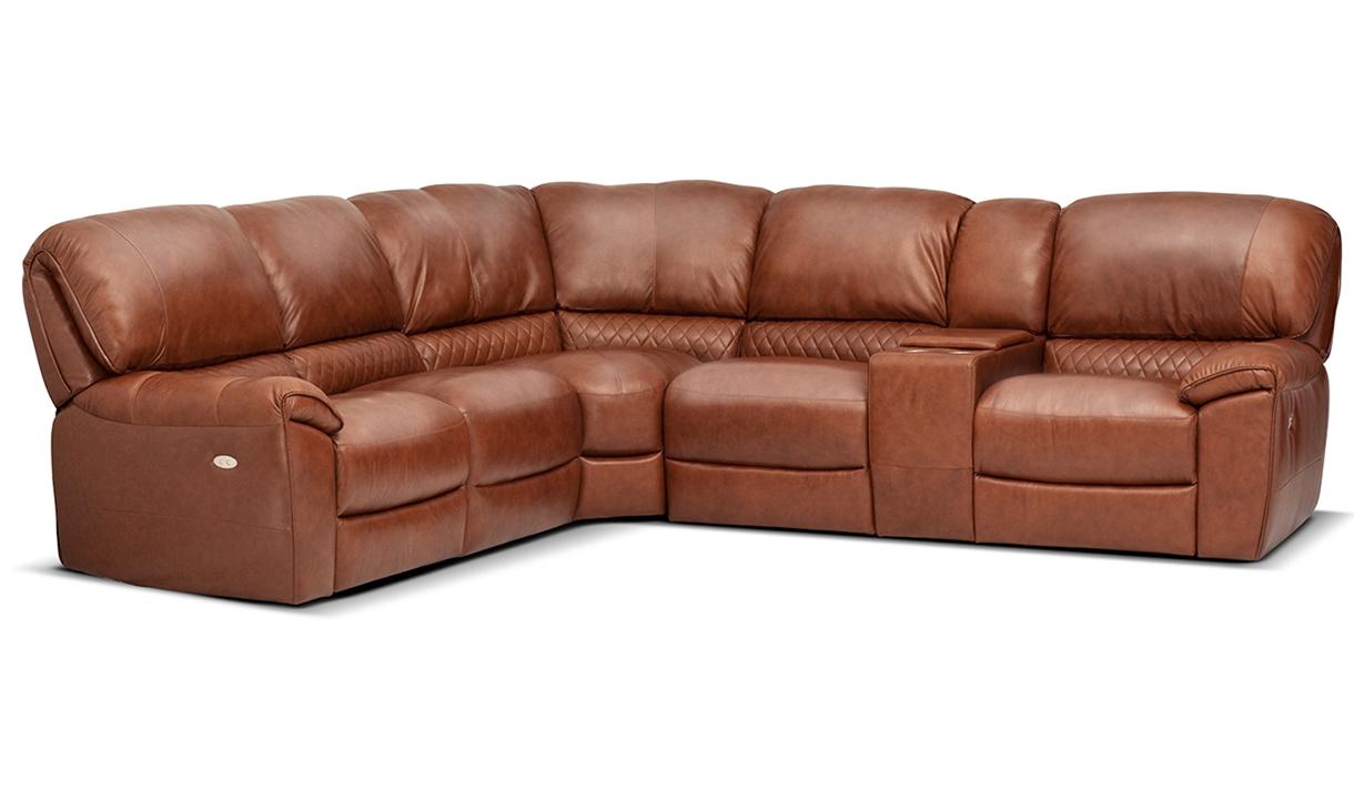 Модульный диван с реклайнерами U229