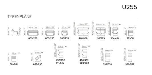 Модульный диван U255 фото 2