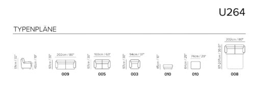 Угловой диван U264 фото 5