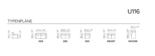 Угловой диван U116 фото 2