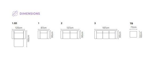 Модульный диван Voss фото 2