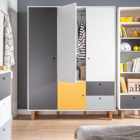 Шкаф 3-дверный Concept фото 6