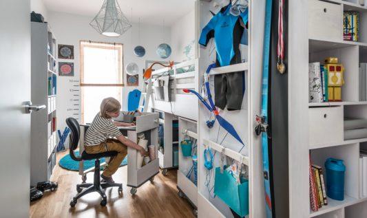 Шкаф Nest 2-дверный фото 7