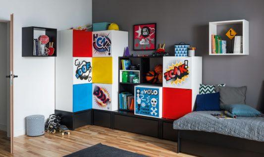 Кровать Young Users с ящиком для хранения 90*200 фото 4