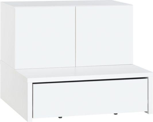 Комод Young Users низкий с выкатными ящиками для хранения