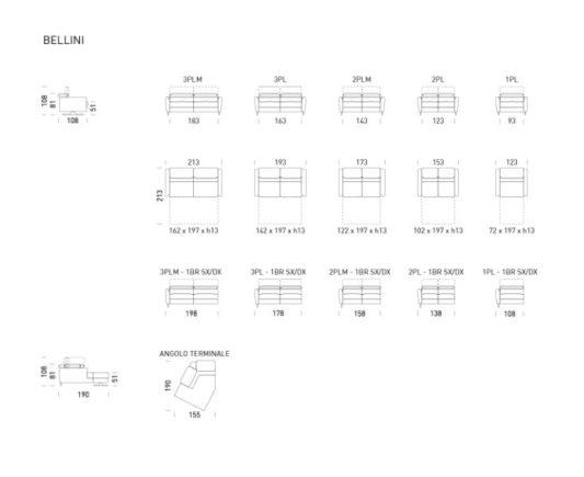 Модульный диван Bellini фото 3
