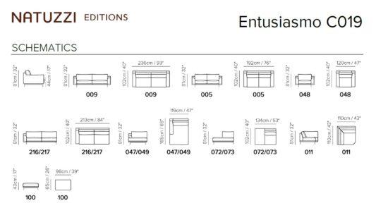 Угловой диван Entusiasmo C019 фото 5