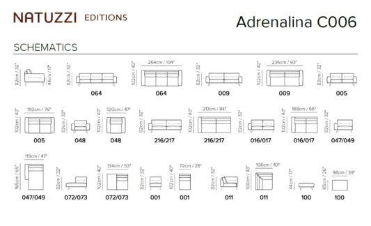 Угловой диван Adrenalina C006 фото 5