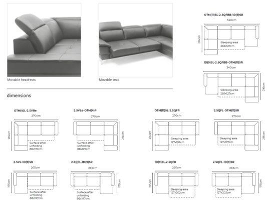 Угловой диван Mantua II фото 5