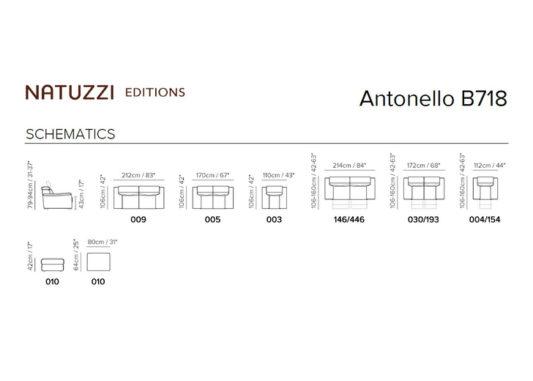 Диван Antonello B718 фото 2