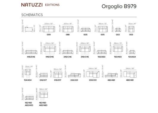 Диван Orgoglio B979 фото 6