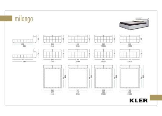 Кровать Milonga L060 фото 8