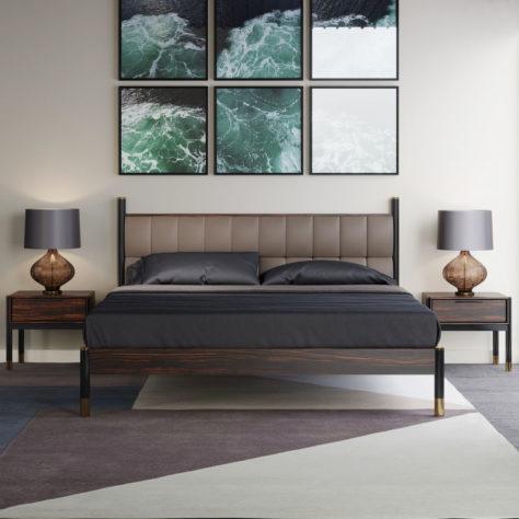 Спальня Benissa с прикроватными тумбами фото 10