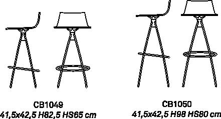 Барный стул Ice фото 16