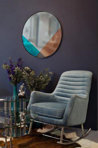 Кресло – качалка 48MY-2569 TUR SLV