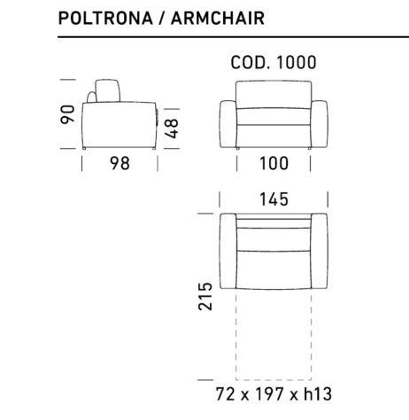 Кресло Nuvola фото 2
