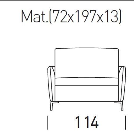 Кресло-кровать Valentina