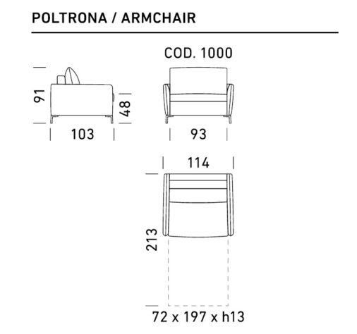 Кресло-кровать Valentina фото 2