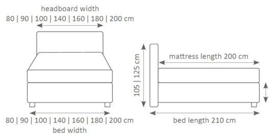 Континентальная кровать 101 фото 2