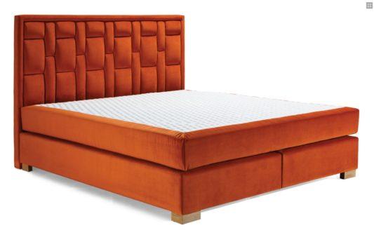 Континентальная кровать 606 фото 2