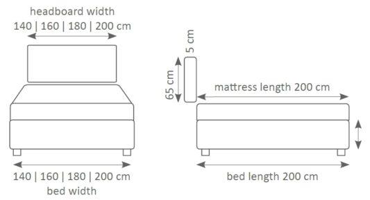Континентальная кровать Smart фото 10