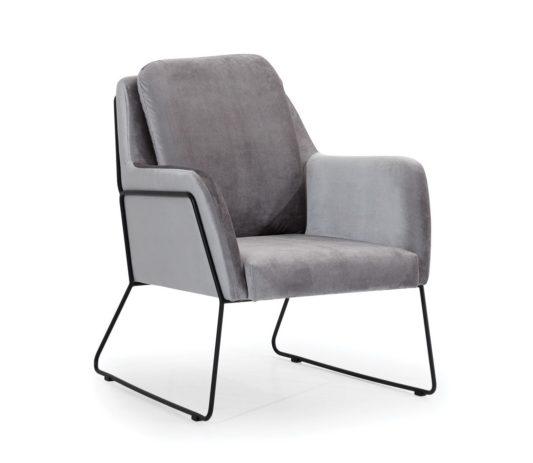 Кресло Tommy на металлическом каркасе